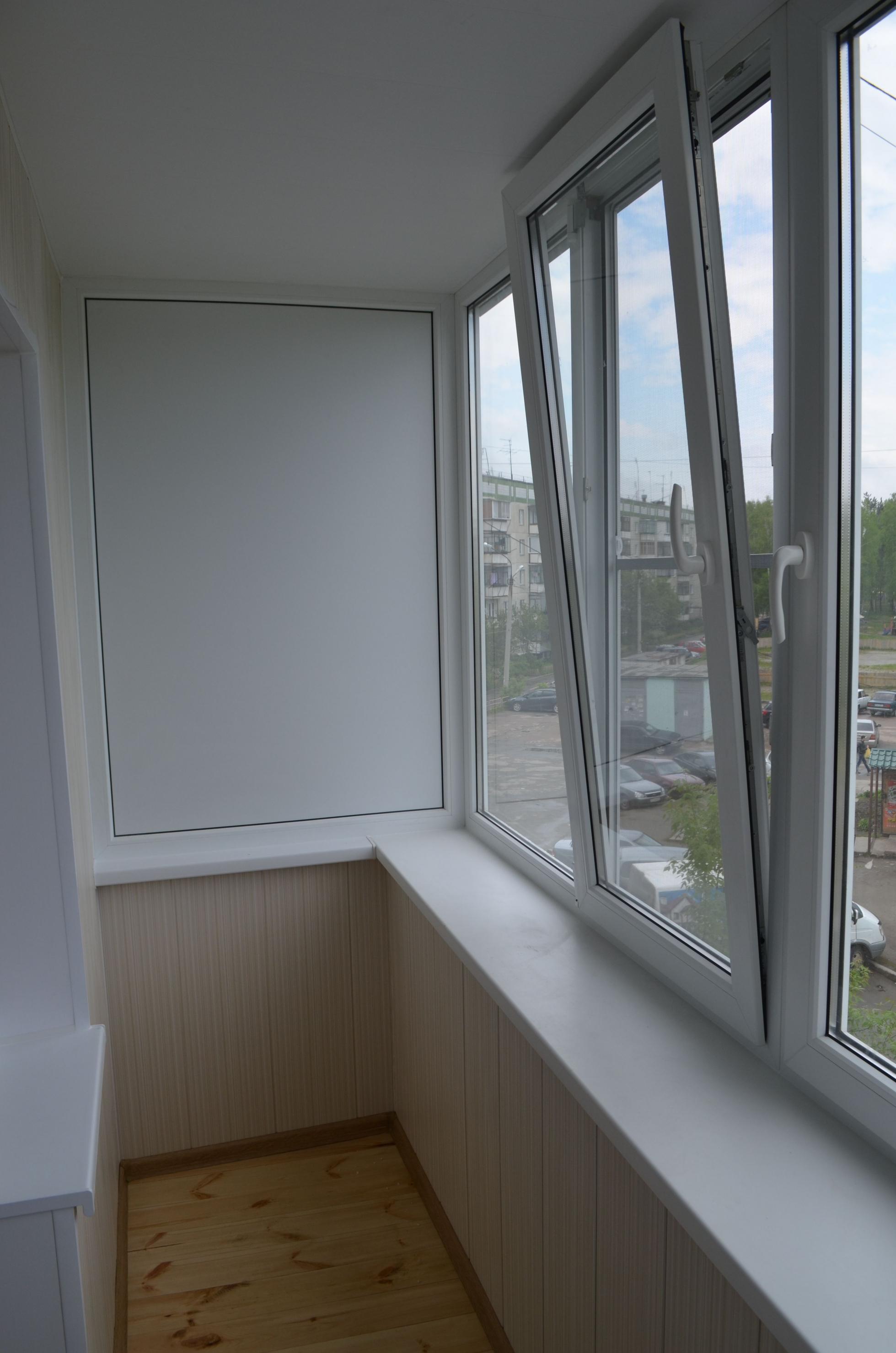 Окна и балконы - наши работы - люксокно.